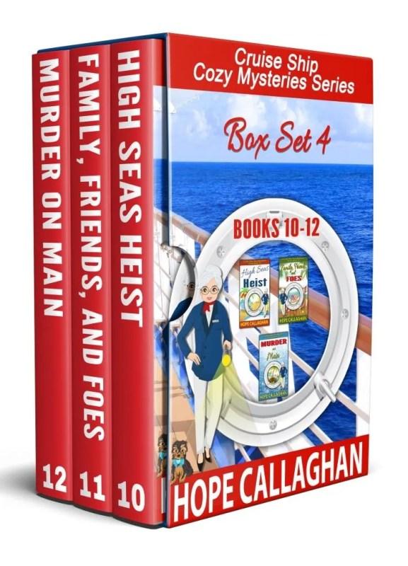 Cruise Ship Cozy Mysteries Box Set Four (Books 10-12)