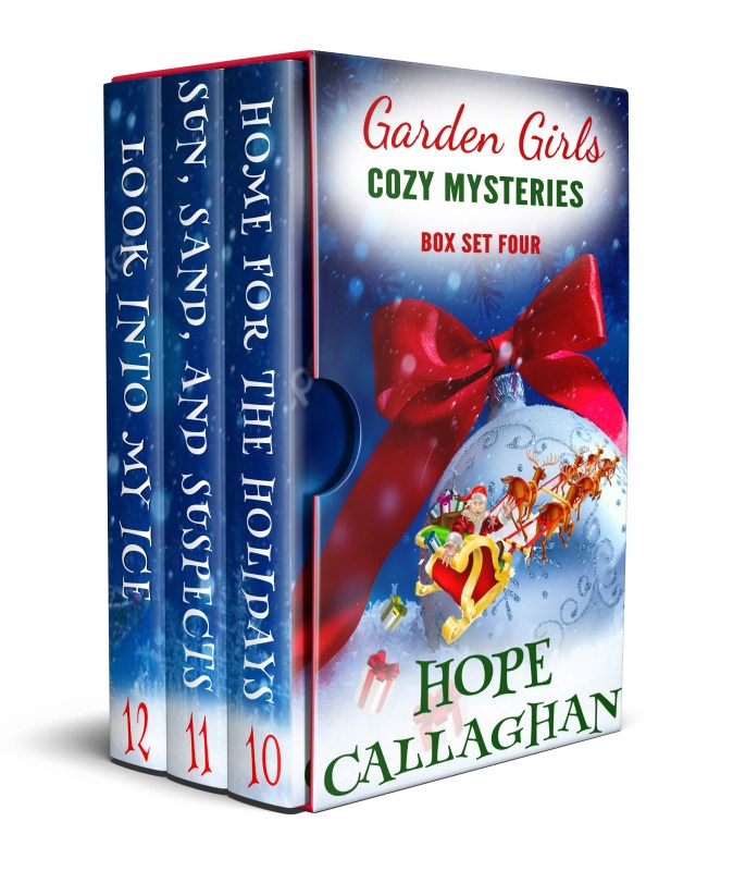 Garden Girls Cozy Mysteries Box Set Four – Books 10-12