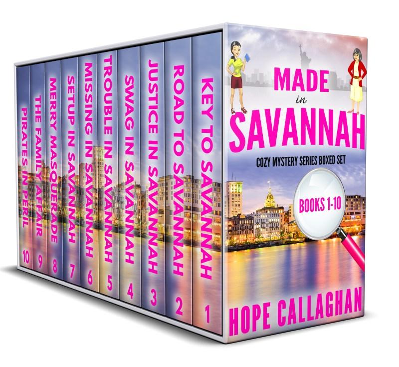 Made in Savannah Cozy Mysteries Box Set: Books 1-10