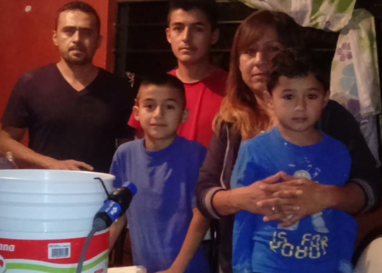 (July) Puebla, Mexico-- Pastor Sebastián Hernández Esteban from Iglesia Biblica Labranza de Dios partnered with HOPE Coffee to distribute clean water filters to the Solis family and the Hernandez family (pictured below).  Before now, neither of these families had access to clean water! Their interest in the gospel message has deepened greatly as they strengthen their relationship with the people of the local church!