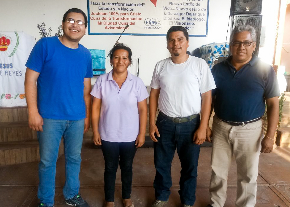 (December) Puebla, Mexico-- Pastor Adan Sanchez of Iglesia Bautista Cristo La Única Esperanza partnered with HOPE Coffee to build a house for Maria, a single mother of three, who lost her home to an earthquake. Maria was a new believer and seeing this love poured out on her has deepened her faith greatly!