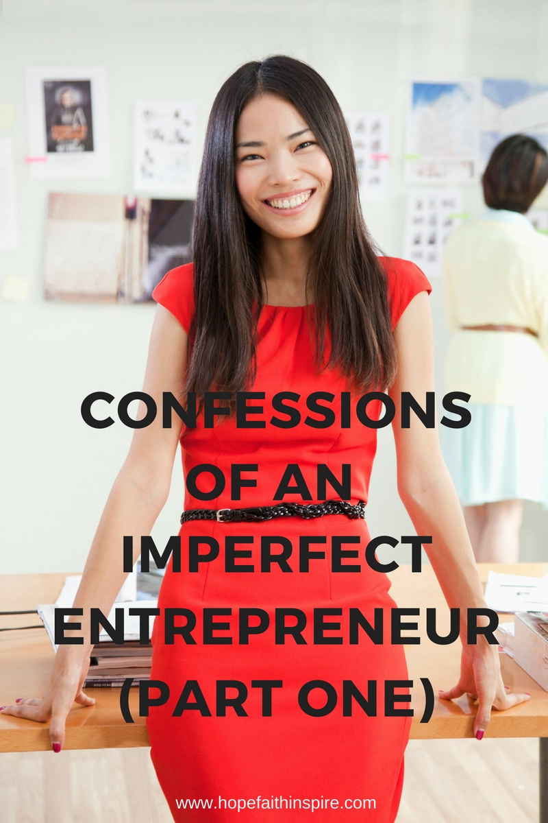 confessions of an imperfect entrepreneur