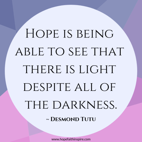 Hope Quote - Desmond Tutu