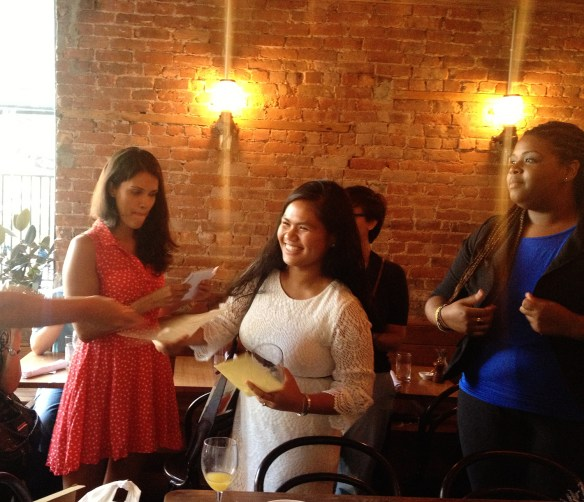 Clair tells us about her internship at Gowanus Canal Conservancy