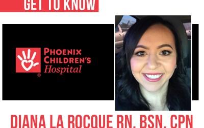 Meet Diana – New HH Program Coordinator at Phoenix Children's Hospital (PCH)!