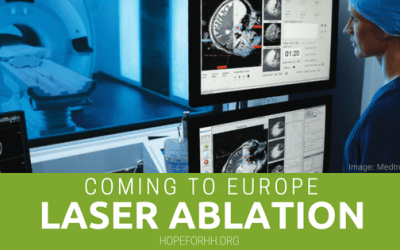 Laser Ablation for HH Coming to Europe!