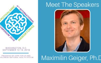 Meet Dr. Maximilin Geiger