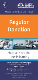 Image for 'Regular Donation' leaflet
