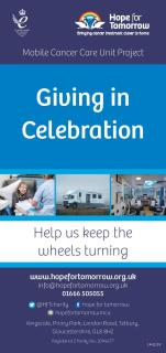 Image for 'Giving in Celebration' leaflet
