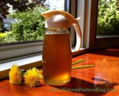 How to make homemade dandelion syrup