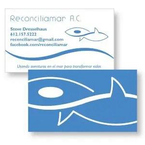 Hopeful Holistic Design business card example