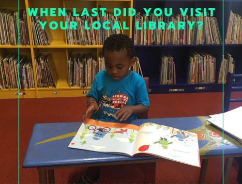 Visiting our local library