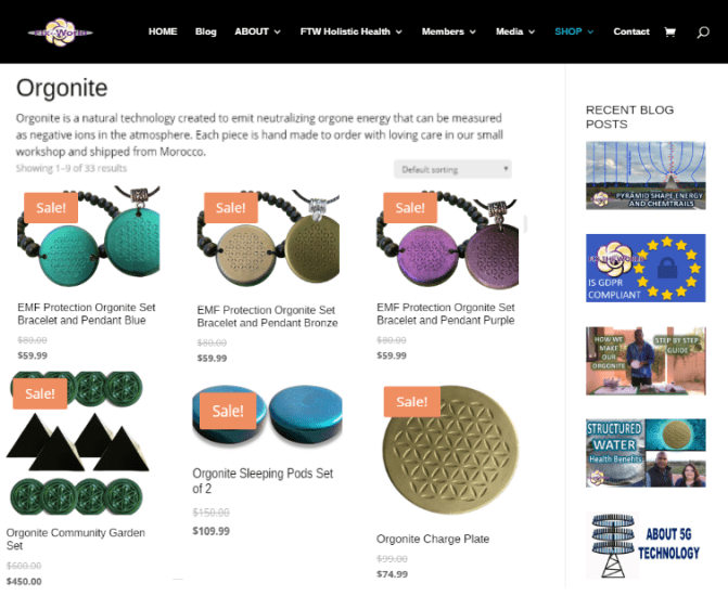 ftw-orgonite-shop Fix The World Updates for 2019