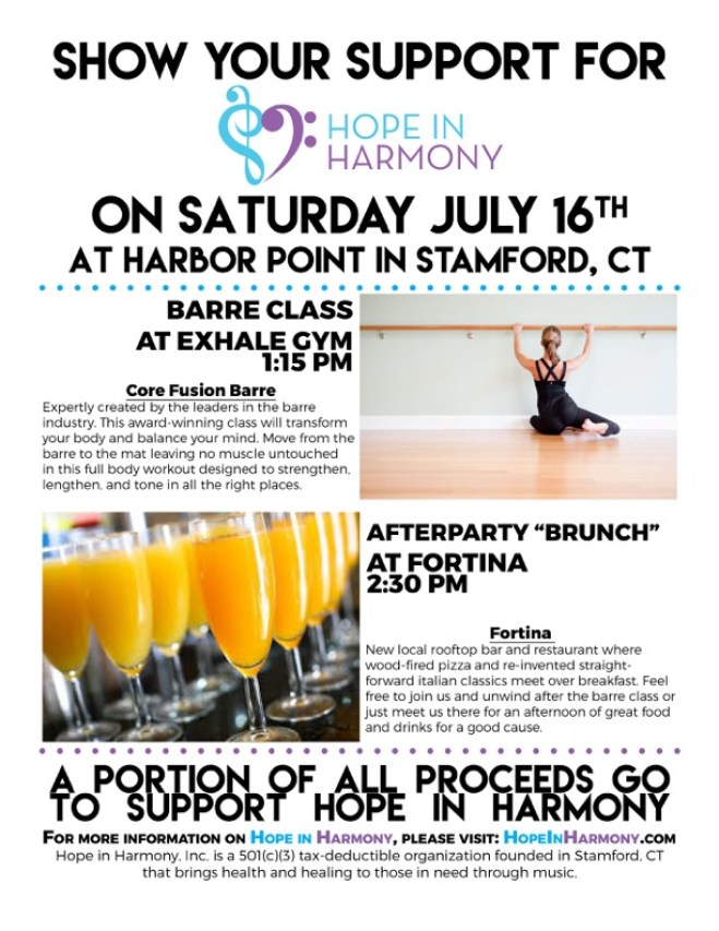 Barre Fundraiser