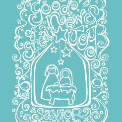 Free Christmas Coloring Printable Nativity Scripture Art Hope Ink