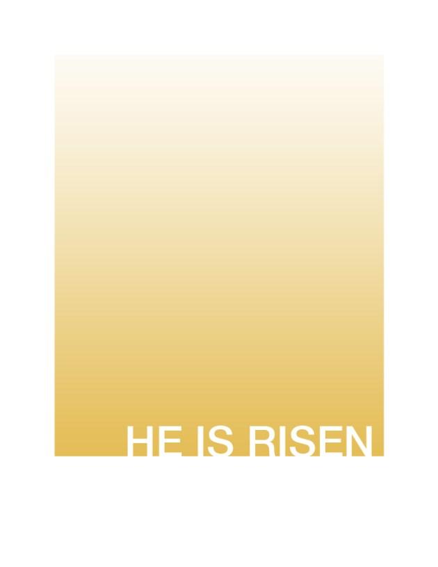 Easter Printable Hope Ink He Is Risen