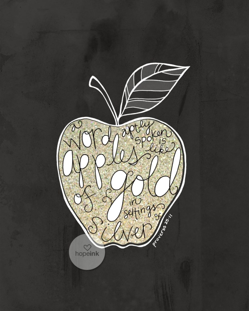 Apples of Gold Hope Ink