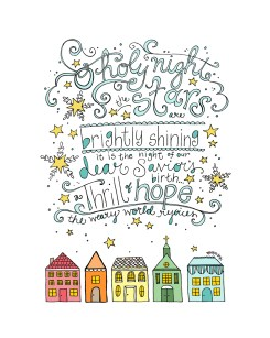 Free Christmas Coloring Printable Scripture Art Bible O Holy Night
