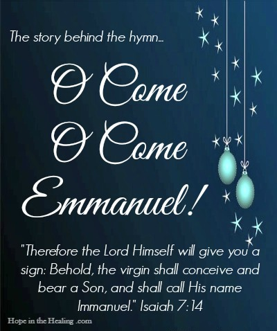 God is with us...Emmanuel! - Hope In The Healing With ...