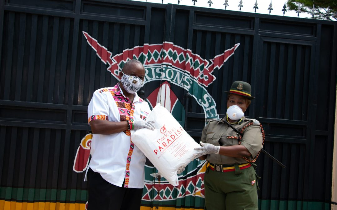 SHIMO LA TEWA WOMEN'S PRISON BENEFIT FROM DONATION OF BEDDING AND SANITARY ITEMS