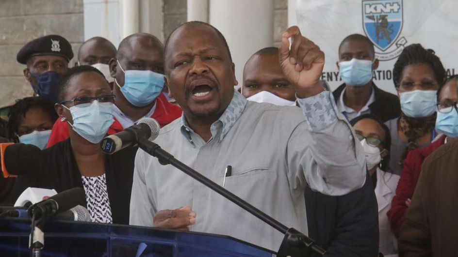Four State House staff test positive for COVID 19, as Kenya records 133 new cases
