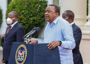 Pres. Uhuru announces COVID 19 Curfew extension as cases increase