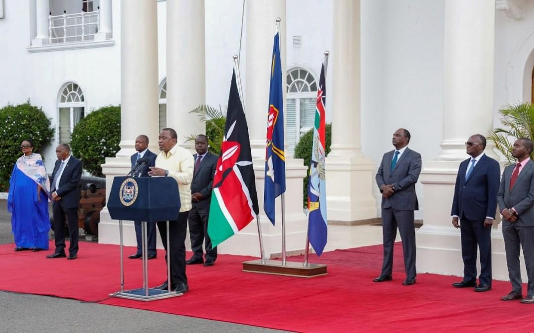 Pres. Kenyatta announces new  COVID 19 reinforcement measures as numbers surge.