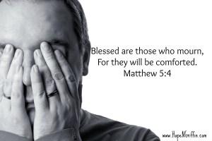 Matthew 5:4 mourn