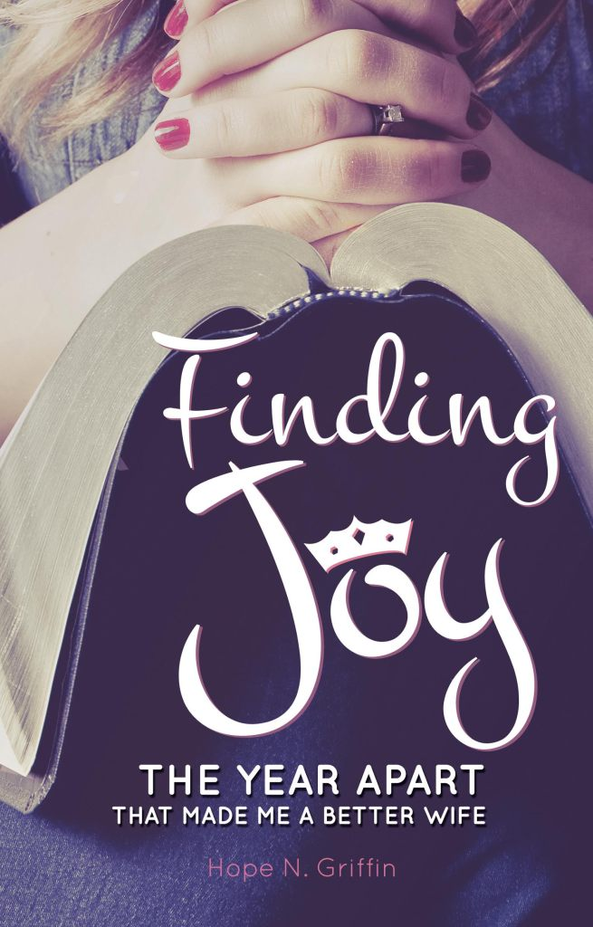 finding joy book cover Hope N. Griffin