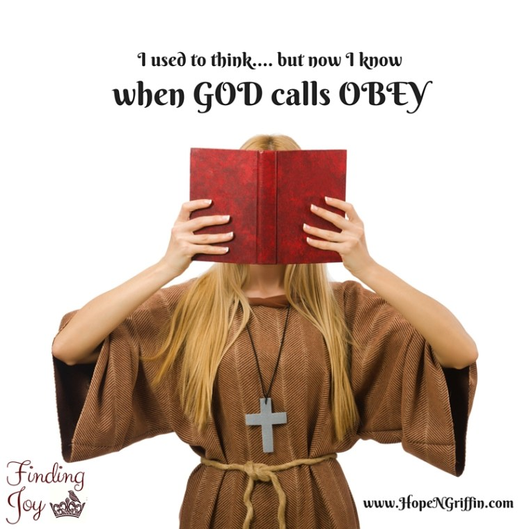 Ministry When God calls Obey