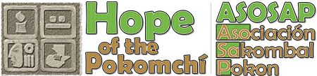 Hope of the Pokomchi ASOSAP Logo