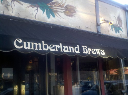 awning for Cumberland Brews
