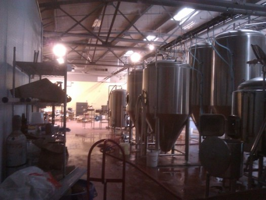 Fermenters at West Sixth Brewing Company