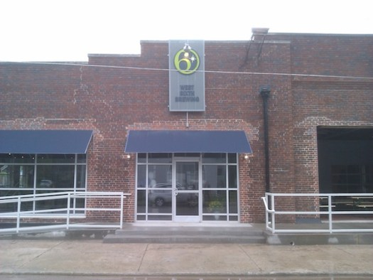 Front of West Sixth Brewing Company