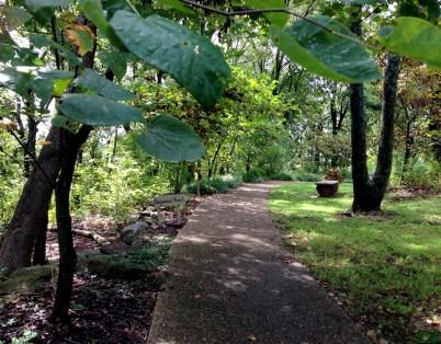 Memorial Garden path 3