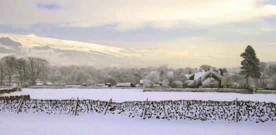 Castleton snowscene