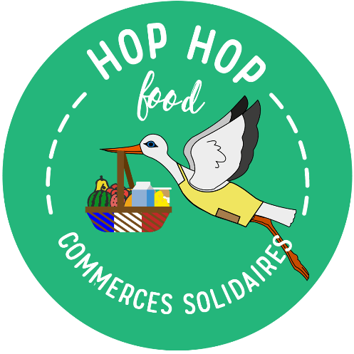 Logo HopHopFood cigogne - commerces solidaires