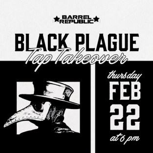 Black Plague Brewery Tap Takeover at Barrel Republic Oceanside