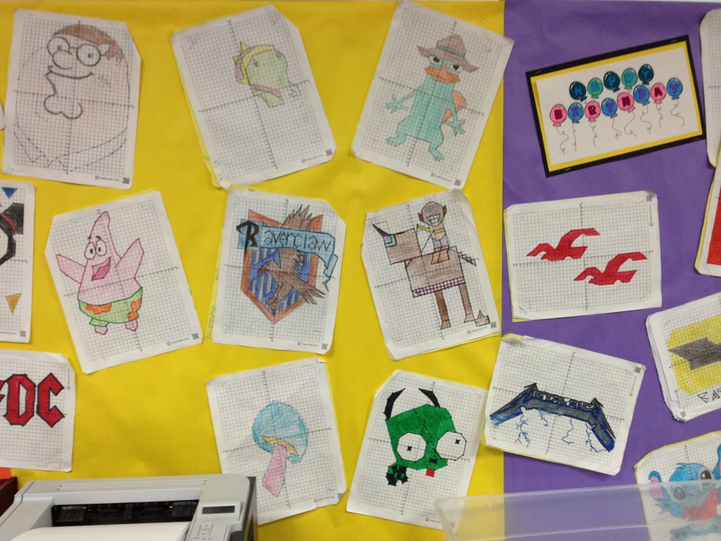 More Linear Graphing Projects Hoppe Ninja Math Teacher