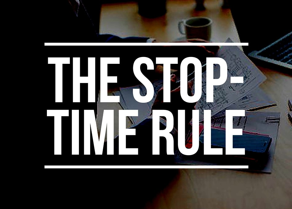 the stop-time rule
