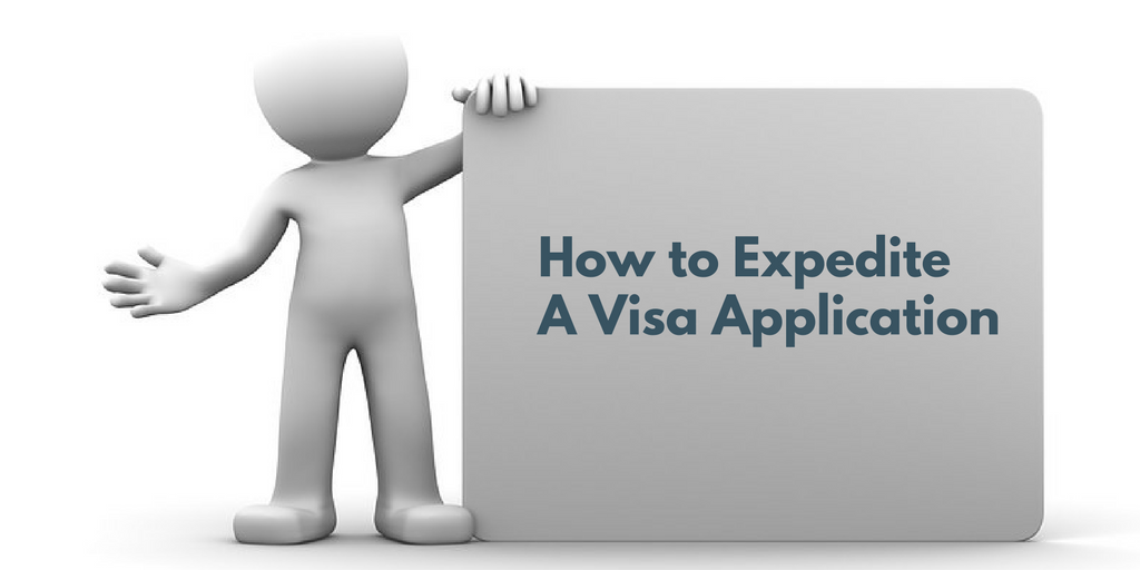 How to expedite a visa petition