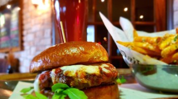 Food-Burger-Godfather-and Beer