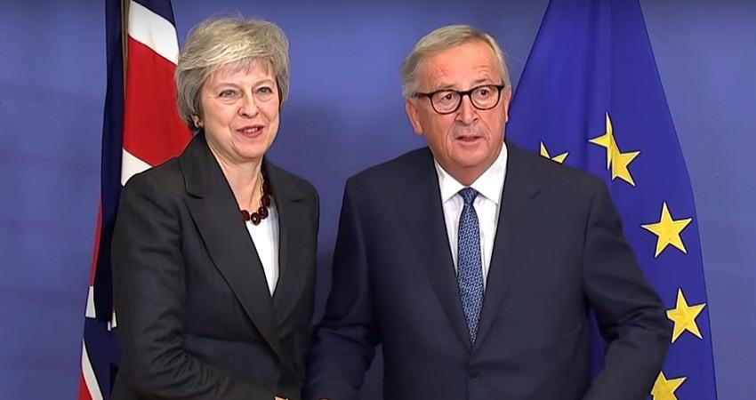 Juncker advierte a May que no hay espacio para renegociar el Brexit