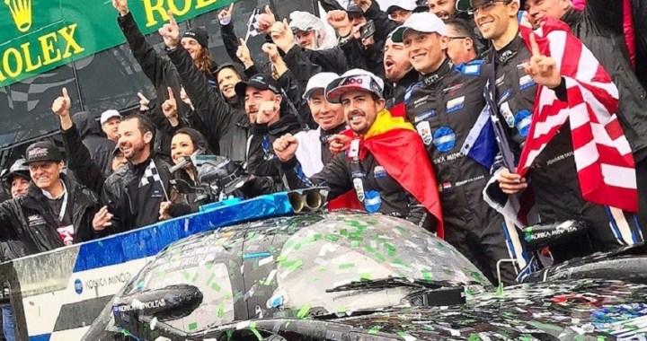 Fernando Alonso sigue haciendo historia: primer campeón del mundo de F1 que gana las 24 horas de Daytona