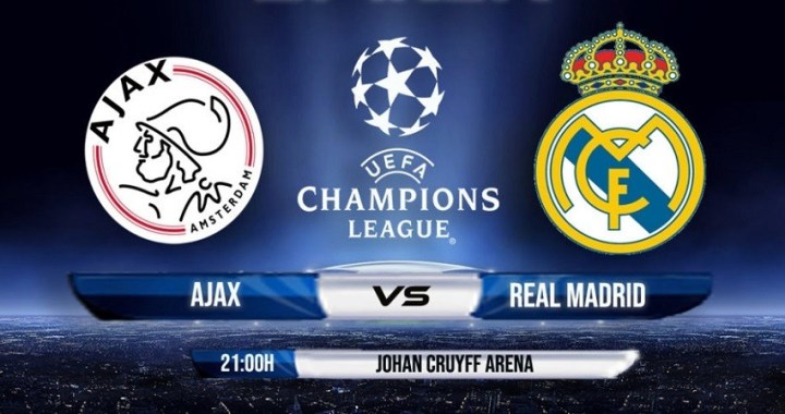 A qué hora juega el Madrid: Ajax vs. Real Madrid de Champions League