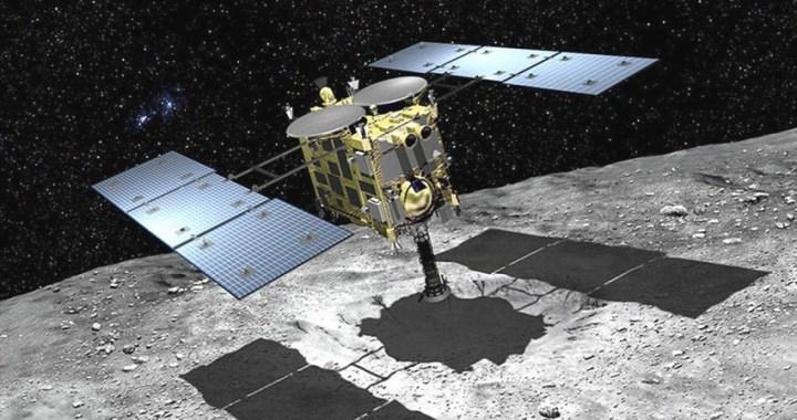 La sonda espacial japonesa Hayabusa 2 aterriza con éxito en el asteroide Ryugu