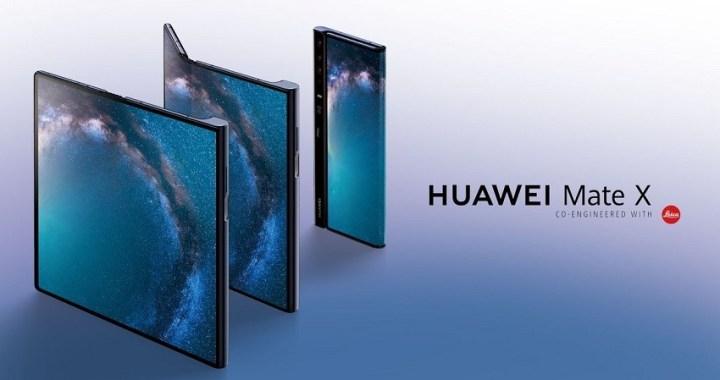 Huawei presenta su smartphone plegable Mate X para rivalizar con el Samsung Galaxy Fold