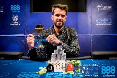 Torneo de poker en vivo CNP de Valencia