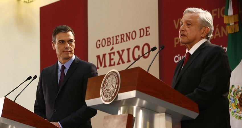 El presidente de Mexico exige al Rey que Espana se disculpe por la Conquista