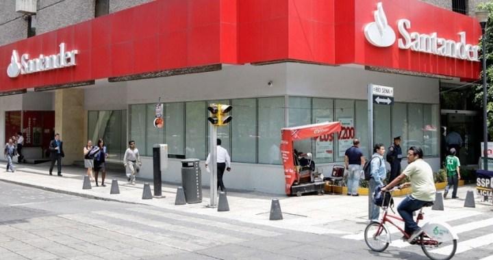 El Santander lanza una opa de 2.560 millones por el 25% de su filial en México